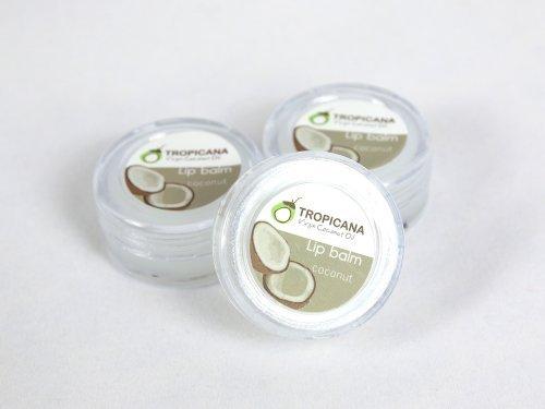 Virgin Coconut Oil Lip Balm coconut oil (Pack (Night Personalized Lip Balm)
