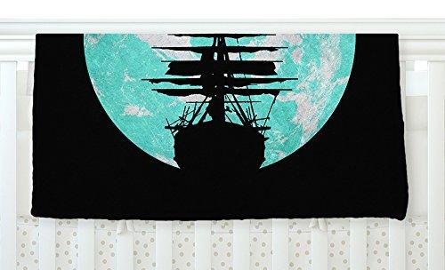 KESS InHouse [並行輸入品] Micah B077YW9RCN Sager Voyage InHouse Aqua Black Fleece Baby Blanket 40 x 30 [並行輸入品] B077YW9RCN, 草津町:c9b80a18 --- ijpba.info