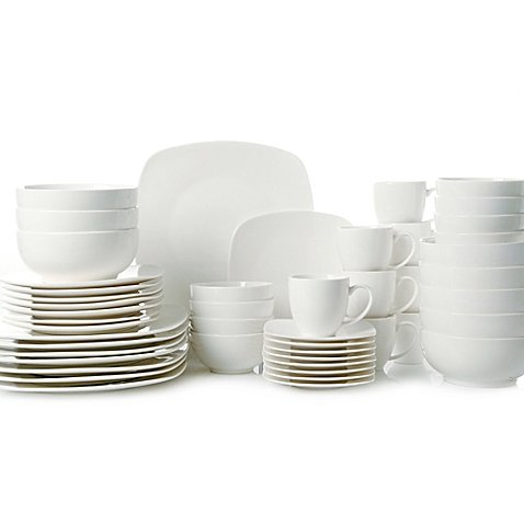 Gibson Home Madison Court 48-Piece Dinnerware Set