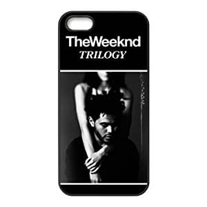 DIY Hard Snap-on Backcover Case for Iphone 5,5s- The Weeknd XO by supermalls