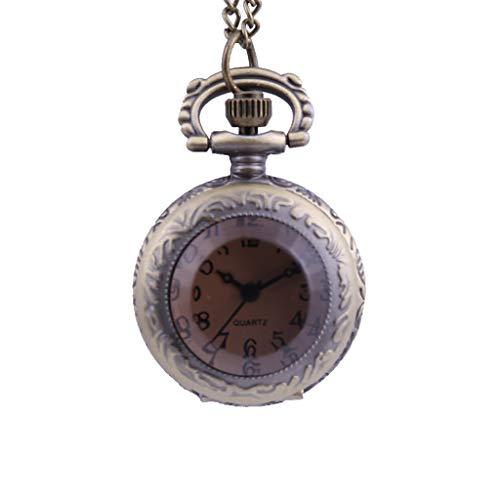 Guartz Watches for Men Digital Under 10 Dollars ❤ New Personality Quartz Pocket Watch Fashion Light Pendant Small Pocket Watch