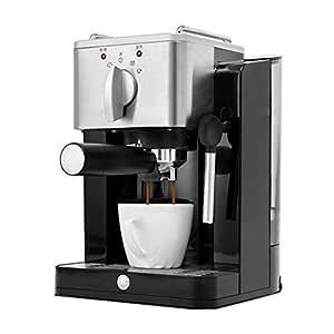 HEYU-Cafetera Cafetera Espresso semiautomática Retro Italiana ...