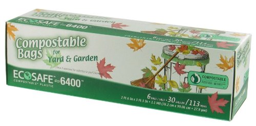 EcoSafe-6400 Compostable Trash Bag