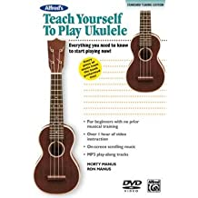 [(Alfred's Teach Yourself to Play Ukulele: Standard Tuning Edition)] [Author: Morty Manus] published on (January, 2011)