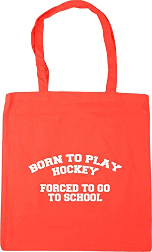 Born Bag Shopping Coral 10 Tote school hockey Gym to play go 42cm to to Beach x38cm litres forced HippoWarehouse dOqAd