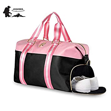 Amazon.com: HAMISS Sport Bag for Fitness Gym Bags Women ...