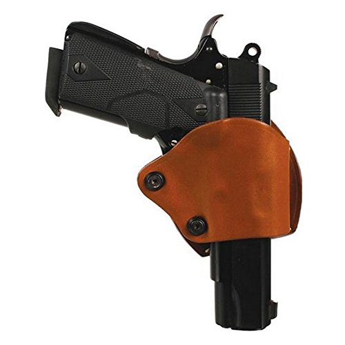 (BLACKHAWK! Leather Yaqui Slide Holster (Brown for Glock 9mm.40 cal, 357, G36), Right Hand)