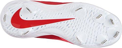 Nike Frauen Lunar Hyperdiamond 2 Pro Fastpitch Softball Stollen US Rot-Weiss