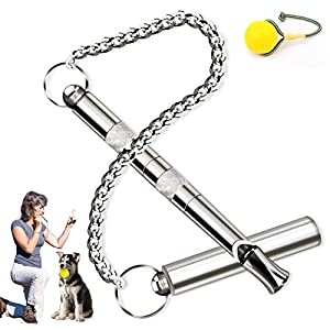 Hodekt Dog Whistle, Professional Ultrasonic Dog Training Whistle, Adjustable Pitch Ultrasonic Recall Training Tool Dog Control Whistle with Premium Quality 28