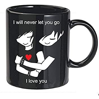 Valentine Ceramic Mug Gift For Girlfriend-Boyfriend
