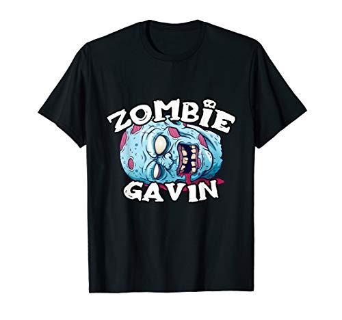 Gavin Halloween Costume (Zombie GAVIN T-Shirt Halloween Simple Costume)