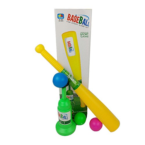 Baseball Launch Trainer Casual Outdoor Sports Parent-Child Toy Physical Activity Fitness Play T-Ball Set for Kids Children by Aneil