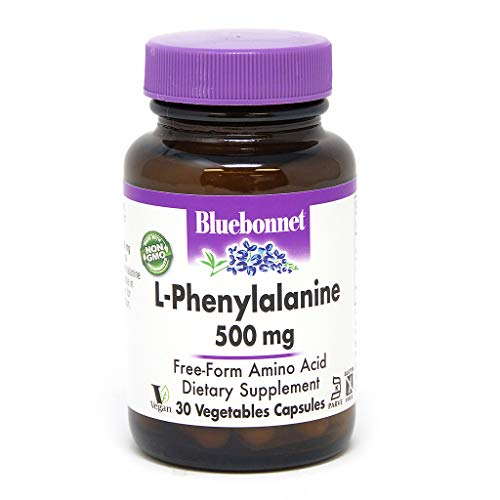 BLUEBONNET NUTRITION L-PHENYLALANINE 500 mg