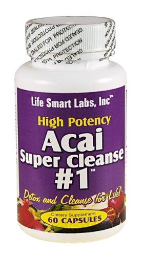 ACAI SUPER CLEANSE # 1 TM très puissant 60 capsules antioxydantes, Detox, Colon Cleanse, la perte de poids
