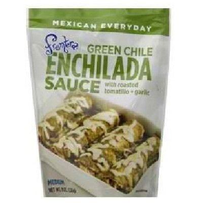 Frontera - Salsa verde del Enchilada de Chile con Tomatillo asado + ajo - 8 oz