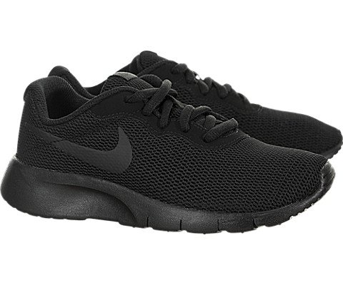 Nike 818382-001 : Boy's Tanjun PS Running Shoes Black (1.5 M US Little Kid) by Nike (Image #1)
