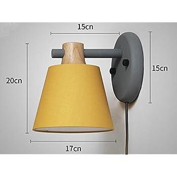 Kiven Nordic Minimalist Creative Color Macaron Wall Lamp