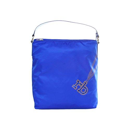 Roccobarocco RBBS91C02 BLUETTE Shopper, Handtasche, Tasche, Blau Blue, 33x14x30 cm