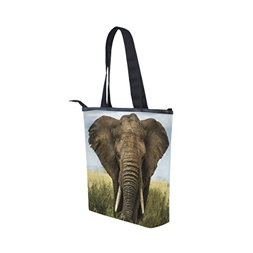 Tote Elephant MyDaily MyDaily Tote Bag Canvas Handbag Womens Shoulder aSfWq