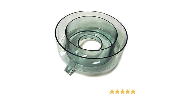 Moulinex caja anillo embudo Licuadora Extractor Vitae ju2000 ju2100: Amazon.es: Hogar