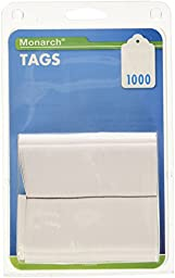Monarch 925047 Refill Tags, 1 1/4 x 1 1/2, White (Pack of 1,000)