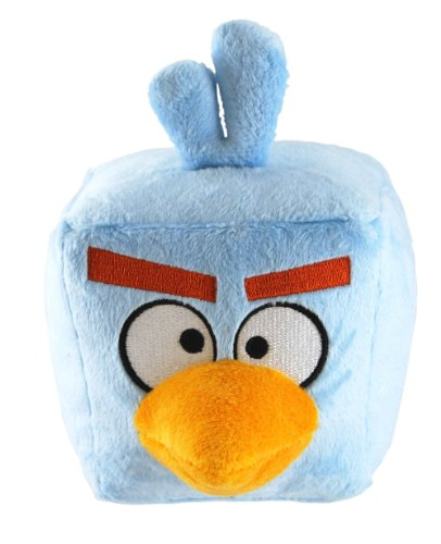 Angry Birds Space 5-Inch Ice Bird with Sound (Bird Green Plush)