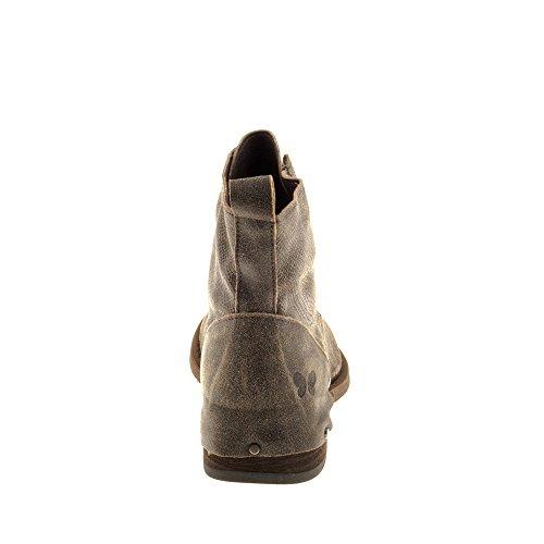 Felmini Scarpe Da Donna - Innamorati Modigliani A930 - Stivali Allacciatura - Vera Pelle - Multicolore