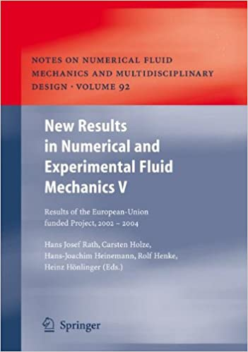 new-results-in-numerical-and-experimental-fluid-mechanics-v-contributions-to-the-14th-stab-dglr-symposium-bremen-germany-2004-notes-on-numerical-fluid-mechanics-and-multidisciplinary-design