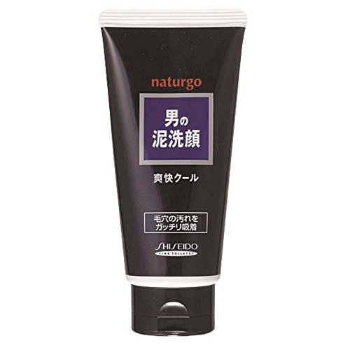 Shiseido Fitit Naturgo MENS Clay Facial Cleansing Foam Menthol – 130g 4.6oz