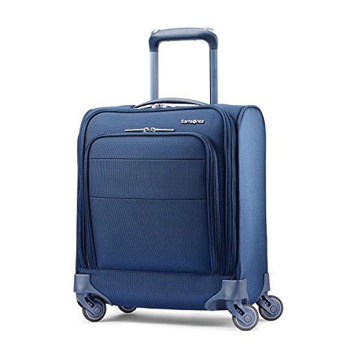 Samsonite Flexis Underseat Carry On Luggage with Spinner Wheels, Carbon - Bag Underseat Samsonite