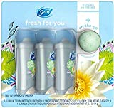 Secret Fresh Waterlily Invisible Solid APDO 2.6 oz, 3-count + 0.5 oz Freshie