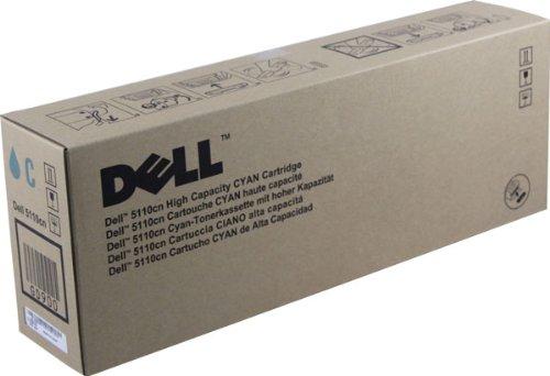 Dell 5110cn High Yield Cyan Toner 12000