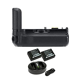 Fujifilm X-T3 Vertical Battery Booster Grip with NP-W126 Extra Batteries + Dual Charger