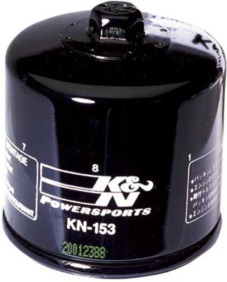 K&N Oil Filter - Cagiva, Ducati (See Specifications) - Black - KN-153 by K&N
