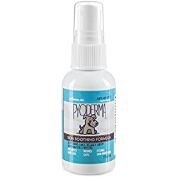 PYODERMA - Veterinarian Approved Anti-Hot Spot Canine Spray (SKIN SOOTHING FORMULA) Recommended for: Hot Spots, Itching, Chewing, Dermatitis - 8 Ounce Spray/ 2 Ounce