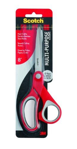 Scotch Multi-Purpose Scissor, 8-Inches (1428)