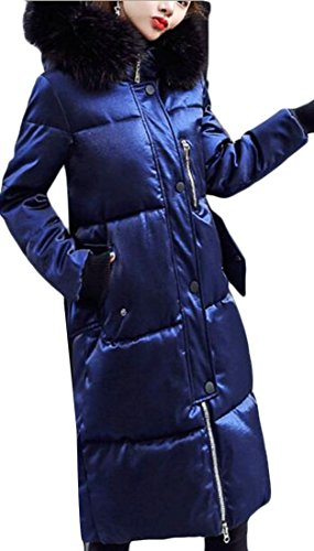 Fur Coat Warm Hooded today Parka UK Women Faux Winter 1 Jackets Puffer Down tTqXx0Ofw