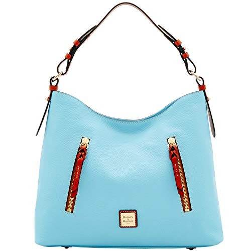 Dooney & Bourke Leather Hobo Bag - Dooney & Bourke Pebble Grain Cooper Hobo Shoulder Bag