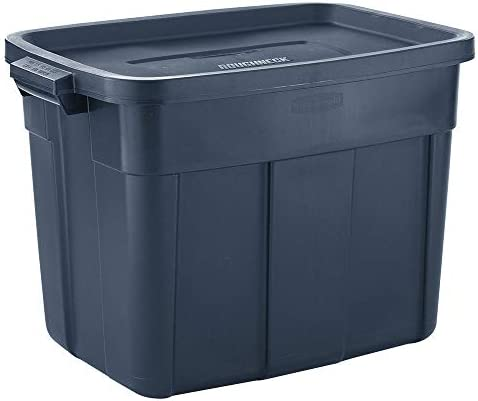 Rubbermaid Roughneck Metallic Stackable Container product image