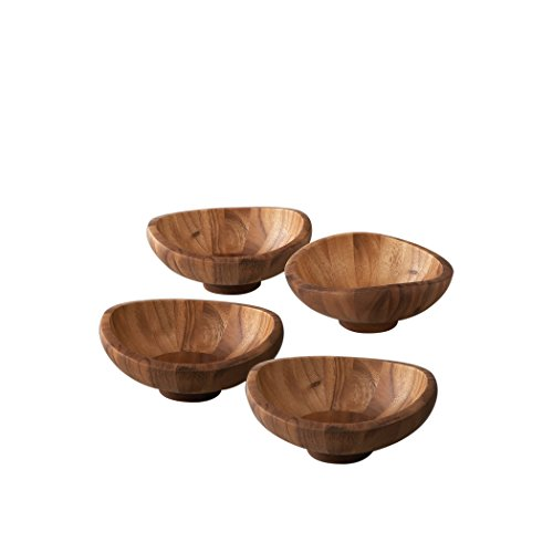 Nambe Butterfly Individual Salad Bowls (Set of 4)