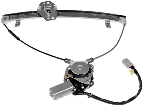 Dorman 741-300 Front Driver Side Power Window Regulator and Motor Assembly for Select Honda Models ()