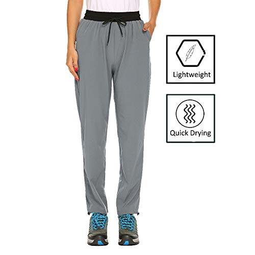 dba4e28a33dcb IN'VOLAND Women's Hiking Cargo Pants Outdoor Quick Drying Convertible Pants