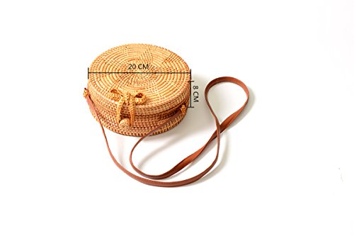 Ata Tote Star Rattan SunXia Bali Bag Bow Pattern Bag with Clasp Crossbody Woven Womens Handbag Fwx4qg