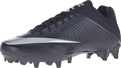 20eee6e6935c Nike Men's Vapor Speed 2 TD Football Cleat Black/Anthracite/Metallic Silver  Size 10 M US