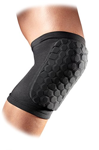Mcdavid-6440-Hex-Knee-Pads-Elbow-Pads-Shin-Pads-for-Volleyball-Basketball-Football-All-Contact-Sports-Youth-Adult-Sizes-Sold-as-Pair-2-Sleeves