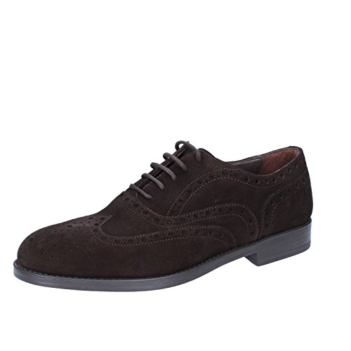 Oxford Marrone Camoscio Shoe TRIVER Scuro FLIGHT Uomo Classiche YqnEOf
