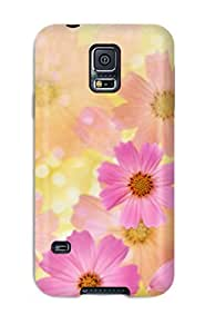 New Design Shatterproof DAAOqFI9801klydP Case For Galaxy S5 (flower S )