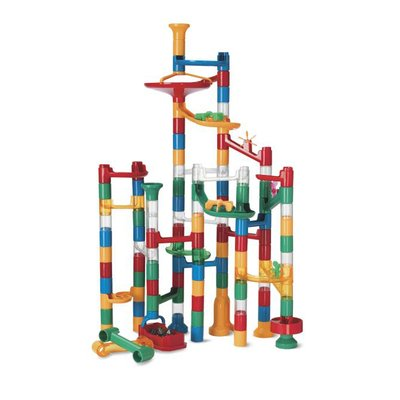 Marble Run: 123 Piece Set (103 durable pieces and 20 marbles) EXCLUSIVELY AT MINDWARE!