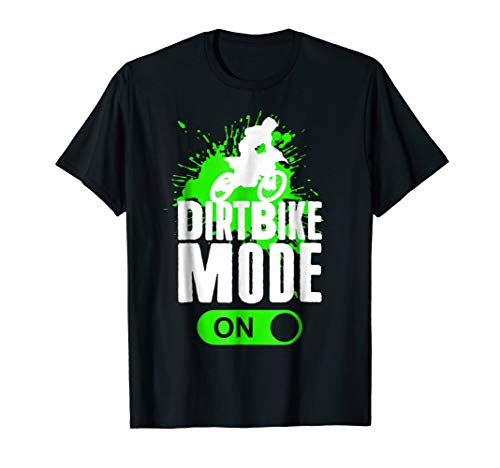 Motorcross Dirt Bike Mode On Youth Racing Rider Shirt Gift