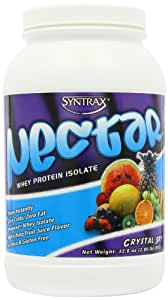 SynTrax Nectar Whey Protein Isolate Powder, Crystal Sky, 2 LB